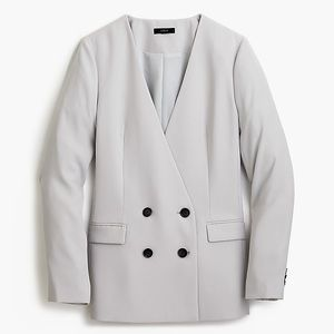 *J Crew French Girl Blazer in Oyster Grey*